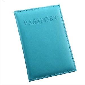 Passport Case Kids White Wreath Ation Stylish Pu Leather Travel Accessories Zipper Passport Cover For Women Men